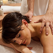 massaggio area benessere